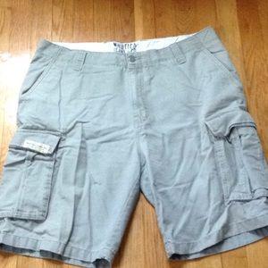 Nautica cargo shorts size 36